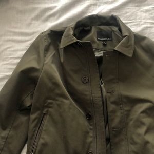 Water resistant coat from Banana Rep - small